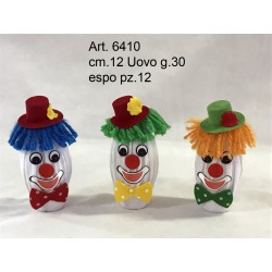 Uovo cioccolata g.30 Clown in Expo pz. 12