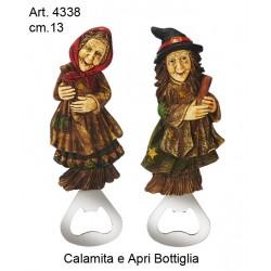 Befana Calamita Apri Bottiglia cm.12 conf. pz. 6