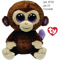 Pel. Ty Coconut Beanie Boos cm.15 conf. pz. 1