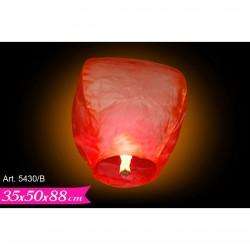 Lanterna Mongolfiera Rossa cm.88