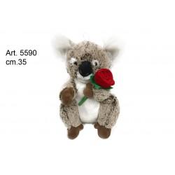 Pel. Koala c/Rosa cm.26