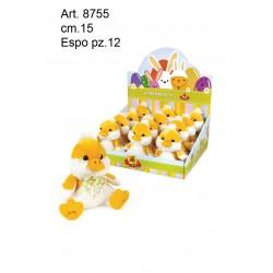 pel.  Paperotto Bicolore cm.15 conf. pz. 12