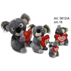 Pel. Koala c/Cuore cm.18 Conf. Pz.1