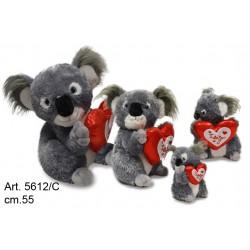 Pel. Koala c/Cuore cm.55 Conf. Pz.1