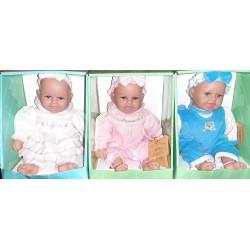 Bebè in Vinile Seduto cm.20 conf. pz. 1