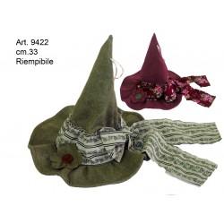 Cappello Panno c/Fiocco cm.33 Conf. Pezzo 1