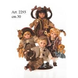 """Bambole """"andiamo in città"""" cm.30"""