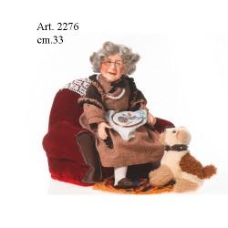 Bambola Nonna cm.33