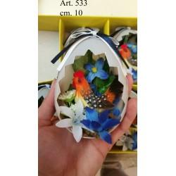 Gallo in Uovo cm. 10 Conf. Pezzi 6